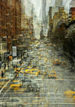New York- semi abstract urban cityscape photograph