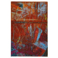 Stephanie Massaux Contemporary Abstract Painting, Distress, 2021