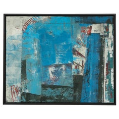 Stephanie Massaux Contemporary Abstract Painting, Obstacles, 2021