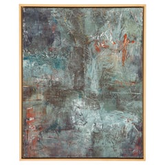 Stephanie Massaux Contemporary Abstract Painting, Terra, 2021