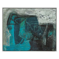 Stephanie Massaux Contemporary Abstract Painting, Nocturnal, 2021