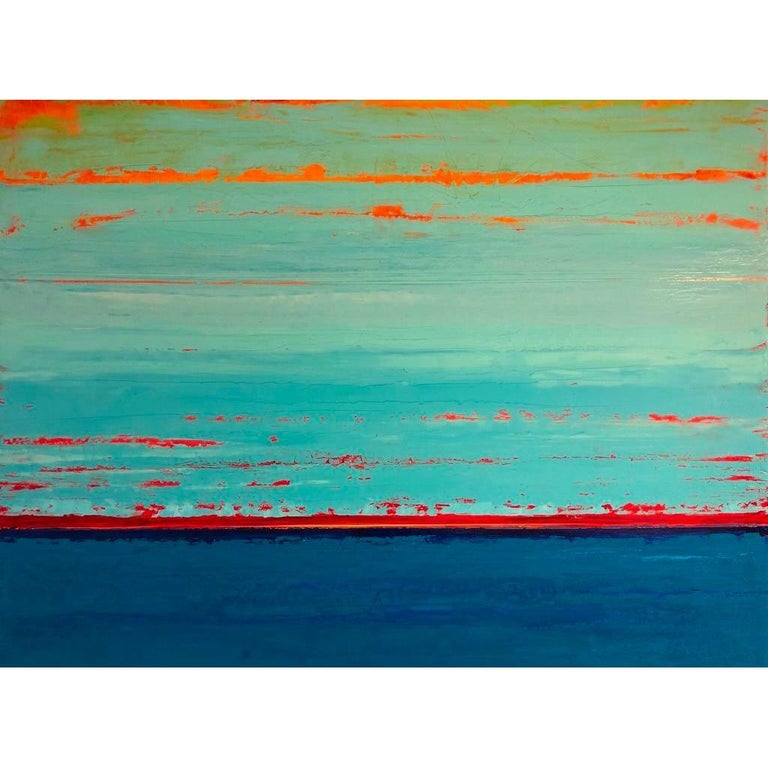 Stephanie Paige Abstract Painting - Home