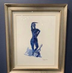 Blue Nude  by Stephanie Wheeler