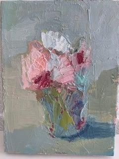 Mini Floral Oil Painting S. Wheeler