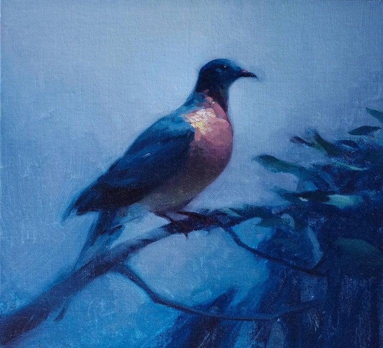 Stephen Bauman Portrait Painting - Carrier Pigeon