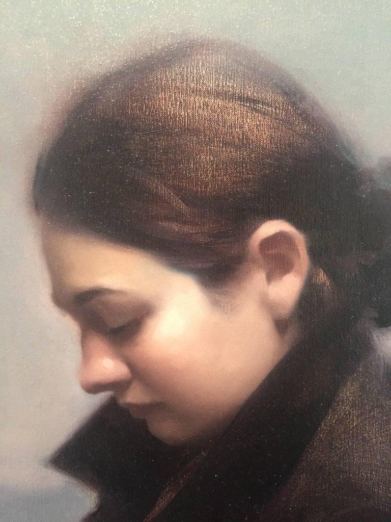In-between Days - American Realist Painting by Stephen Bauman