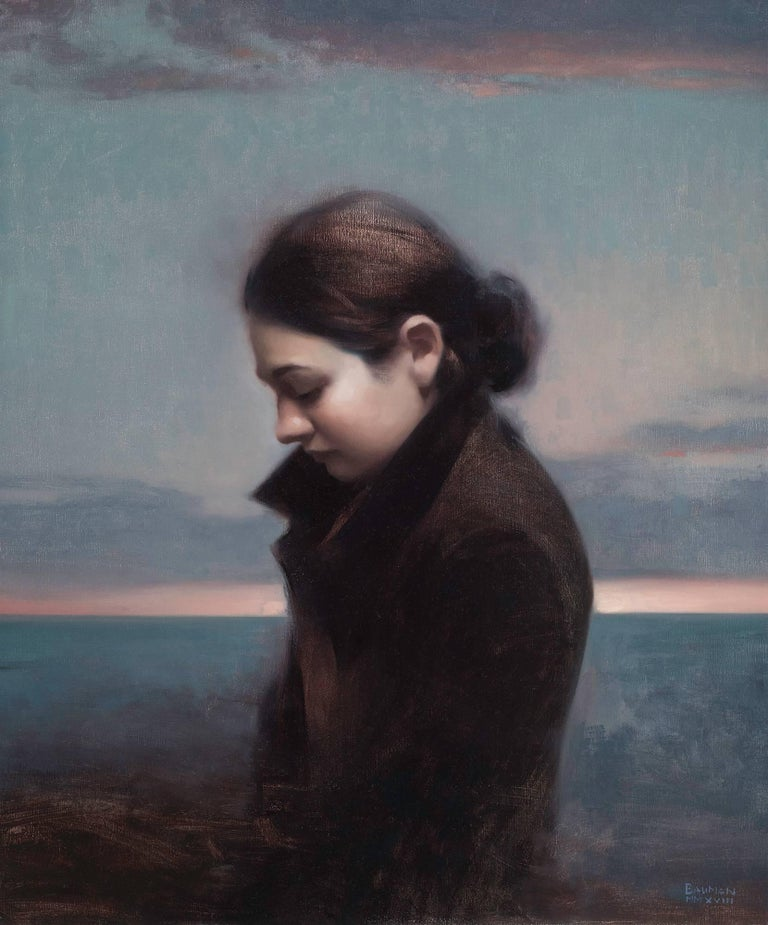 Stephen Bauman Portrait Painting - In-between Days