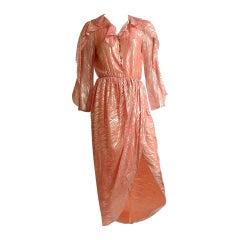 Stephen Burrows 1980s wrap dress size 4 / 6.