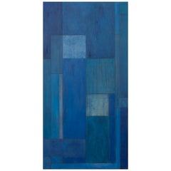 Stephen Cimini Mid-Century Modern Oil Painting