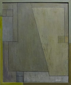 """Abstract oil painting  """"For the Love of Diebenkorn - study 1"""""""