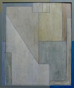 "Abstract oil painting  ""Love of Diebenkorn - study 2"""
