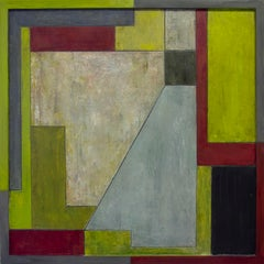 Abstract oil painting - NC 25 x 25 in.