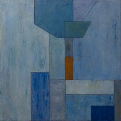 Color abstract limited edition fine art print - Geometric shapes 40x40in.