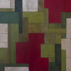 "Color abstract oil paintings - Geometric shapes ""SK"""