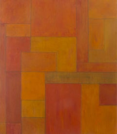 Gold 48x42 in. Oil painting