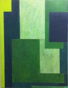 green soul, Painting, Oil on Canvas