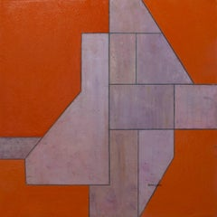 Oil paintings - color block, abstract color paintings