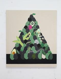Still life Avocado pile