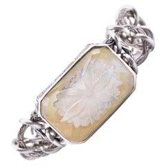 Stephen Dweck Sterling Silver Rock Crystal Bracelet