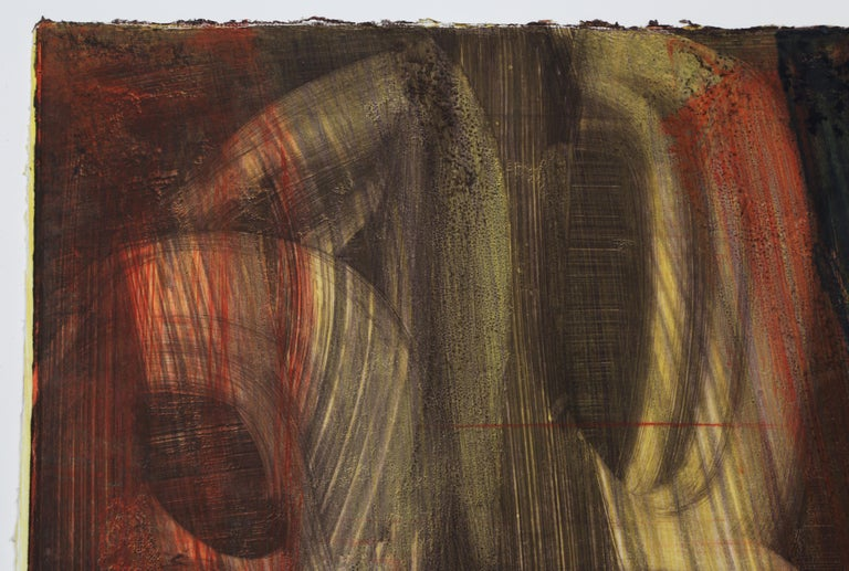 Abstract Monotype by Stephen Ellis 1994 For Sale 1