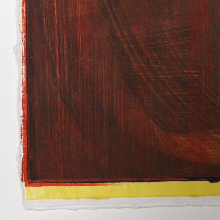 Abstract Monotype by Stephen Ellis 1994 For Sale 2