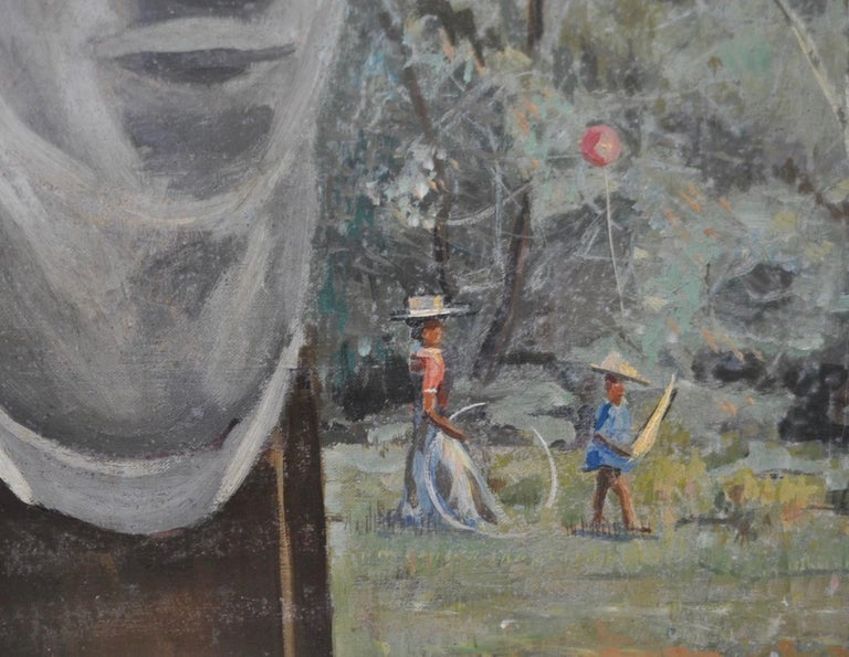 Studio Window - Painting by Stephen Etnier