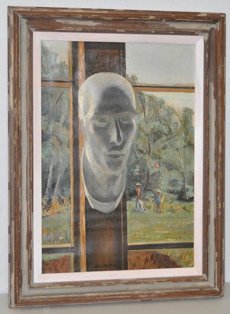 Stephen Etnier Landscape Painting - Studio Window