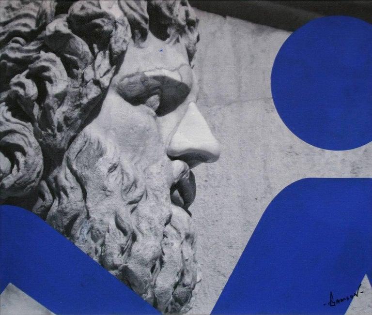 STEPHEN GAMSON Figurative Painting - ITALIAN SERIES #5