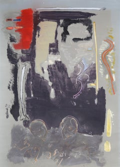 Abstract Mixed Media Painting by Stephen Greene