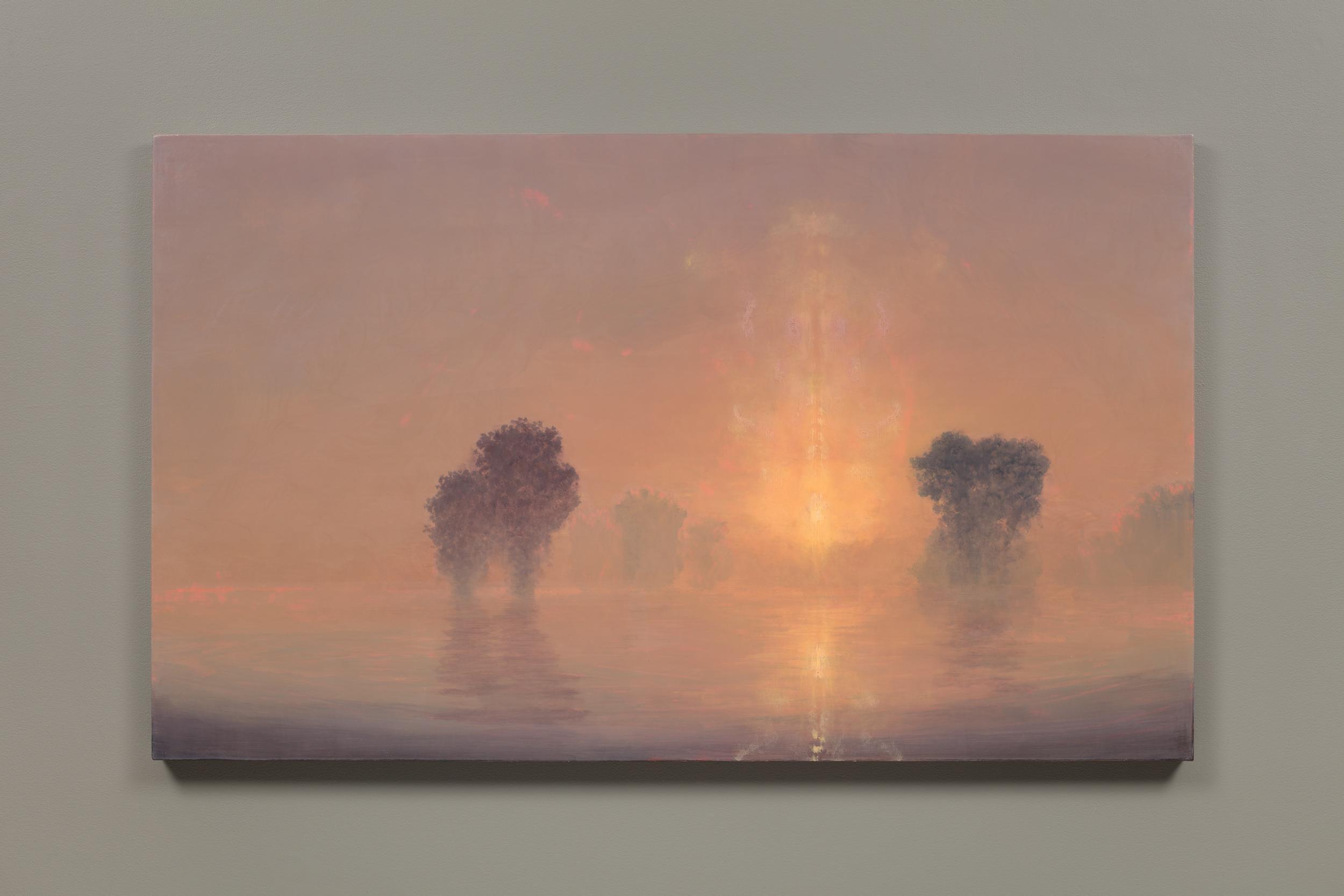Flooded River / Summer Dawn (Mass MoCA # 194)