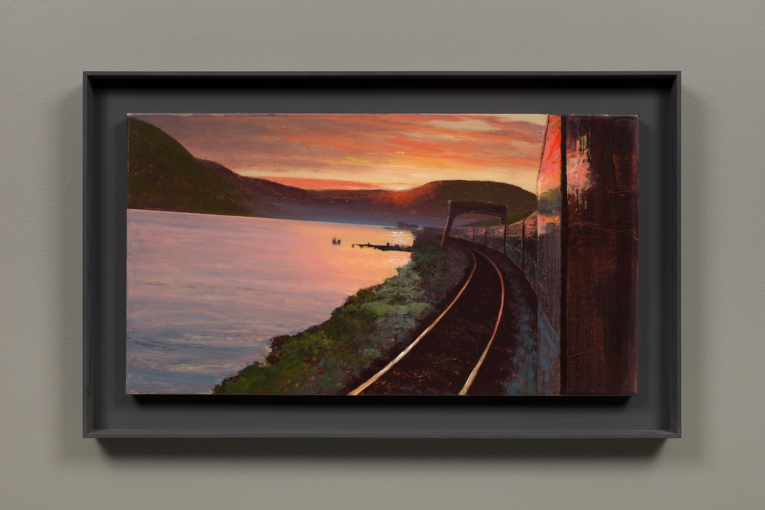 Hudson Highlands from the 20th Century Limited (Mass MoCA #288)