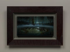 Waiting for Ophelia, Emerald Light (Mass MoCA #314)