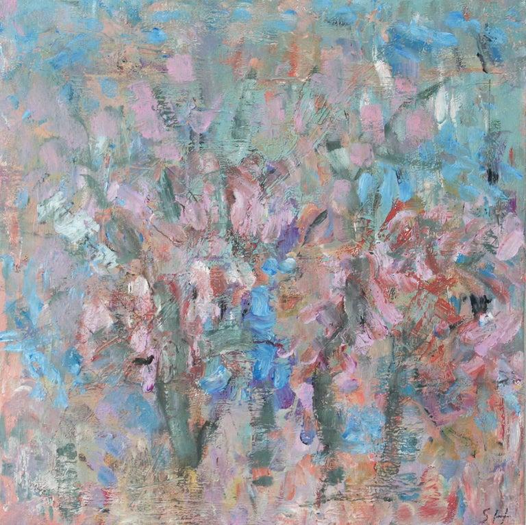 Desert Flora No. 3 / oil on canvas