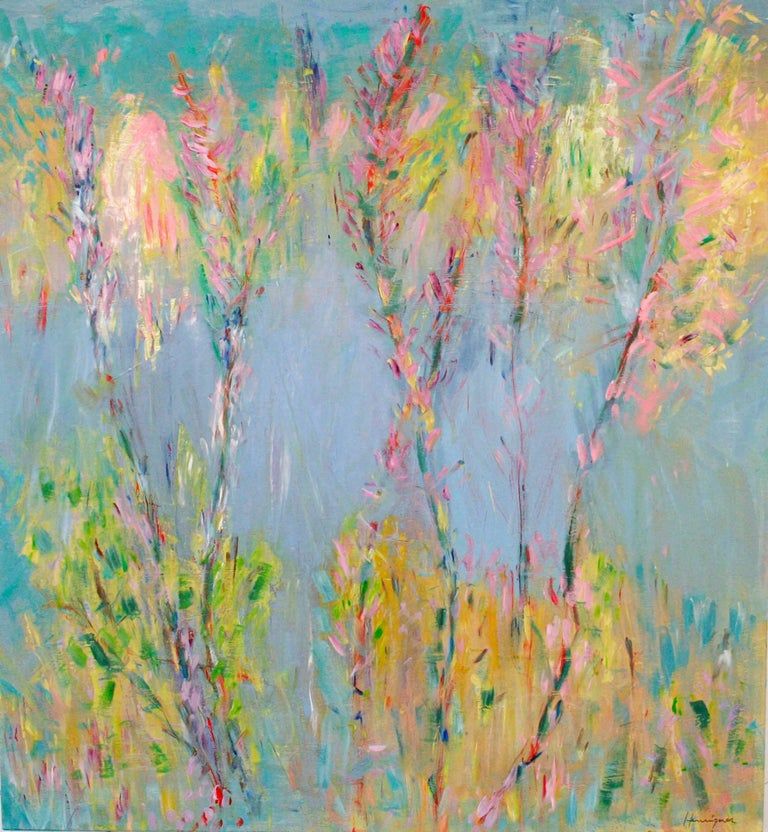 Foxtails / oil on canvas