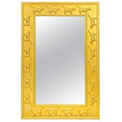 Stephen Huneck Labrador Retriever Mirror