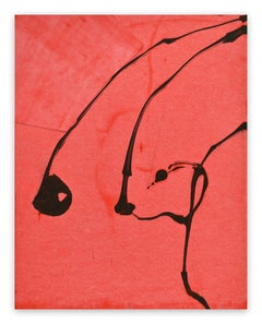 Frankly Scarlet 53 (Abstract painting)