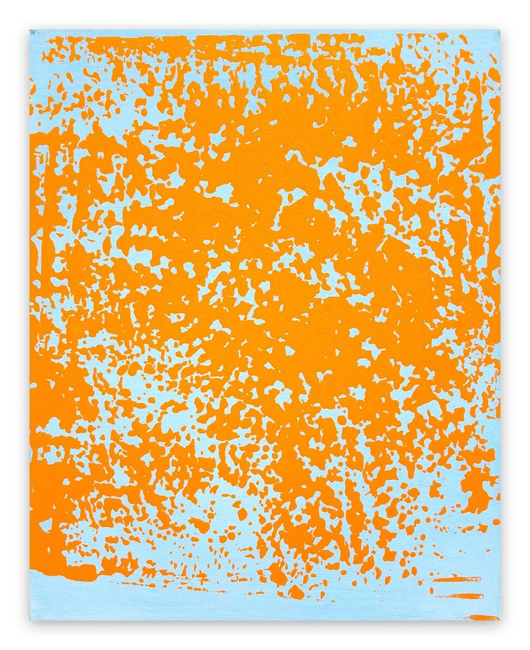 Stephen Maine Abstract Painting - P14-1215 (Abstract painting)