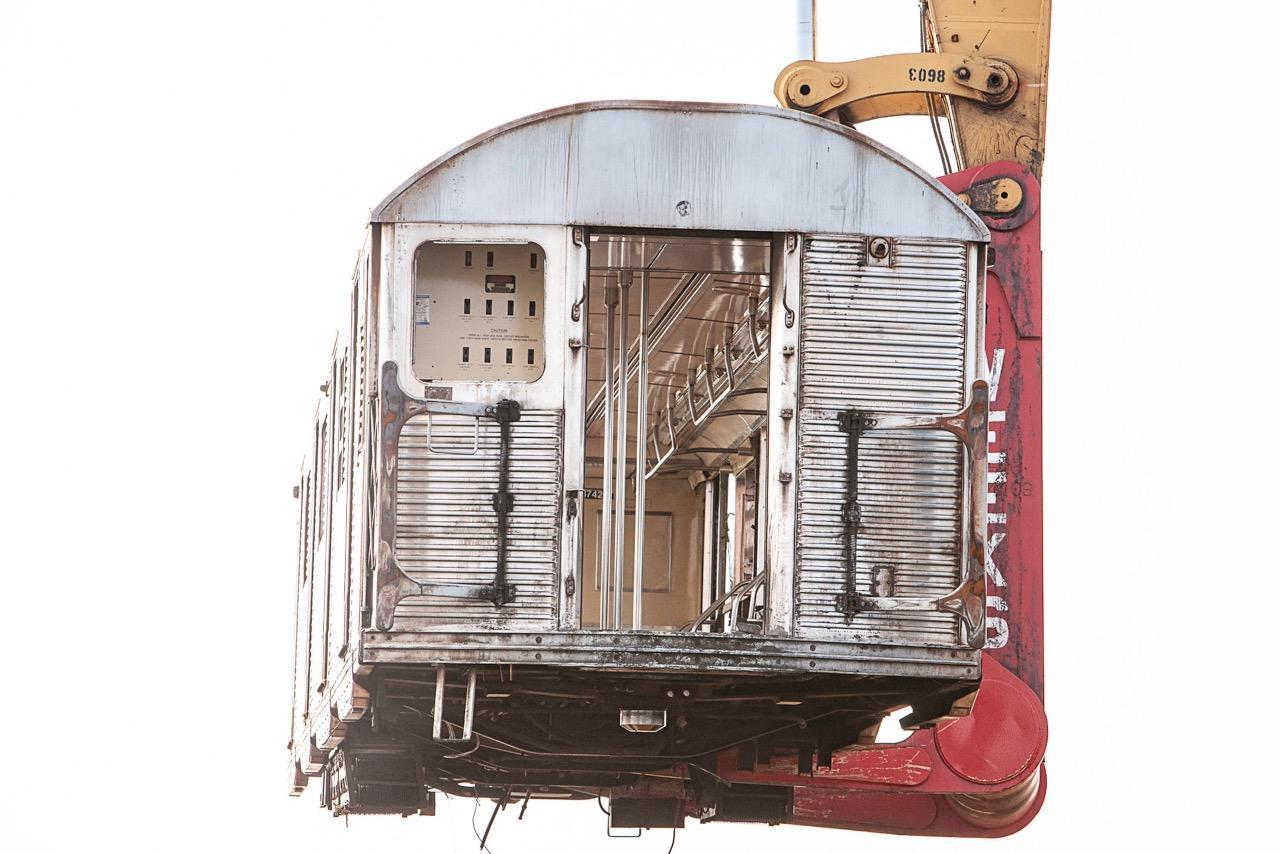 """Elevated Rail"" 40""x60"" New York Subway Reefing Photograph"
