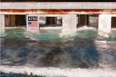 """Pool"" Large Scale Framed Photograph, Reefing of NYC Subway: American Landscape"