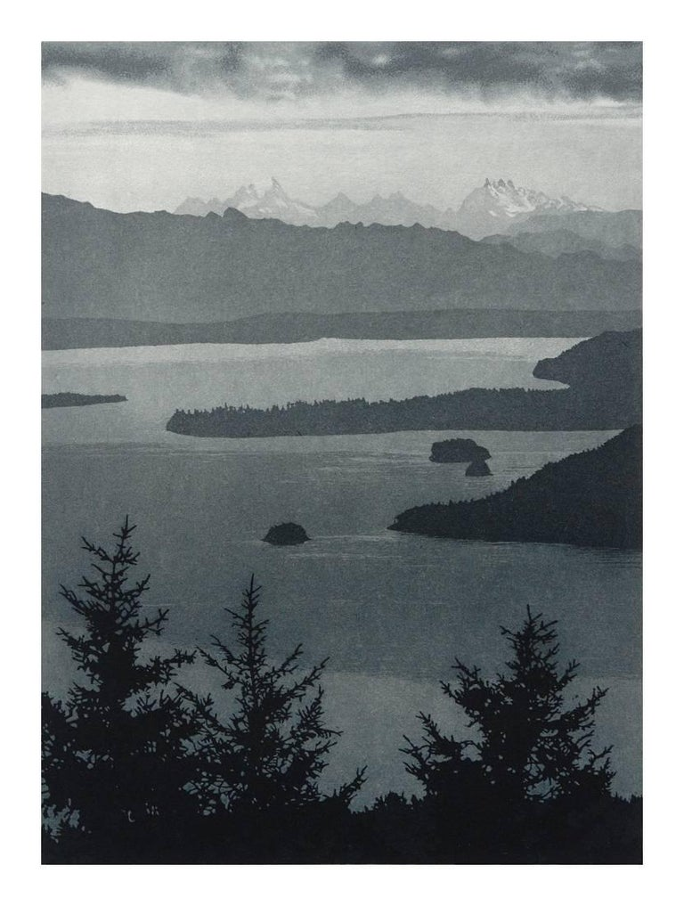 Stephen McMillan Landscape Print - East From Orcas