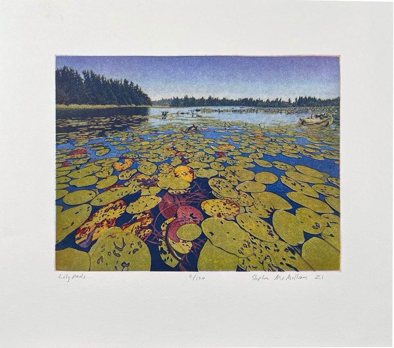 Lily Pads - Print by Stephen McMillan