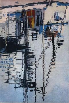 Marina Reflections, by Stephen McMillan