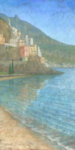 Amalfi, Italy, Painting, Gouache on Other