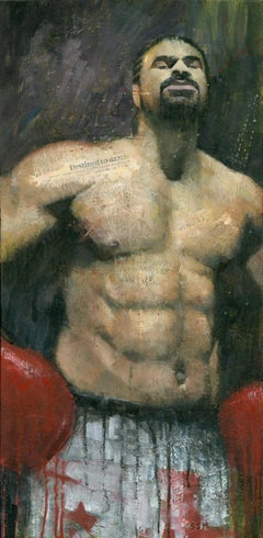 David Haye, Painting, Acrylic on Canvas