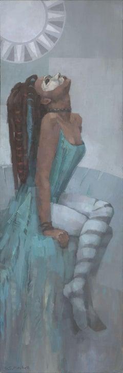 Nephthys, Painting, Acrylic on Canvas