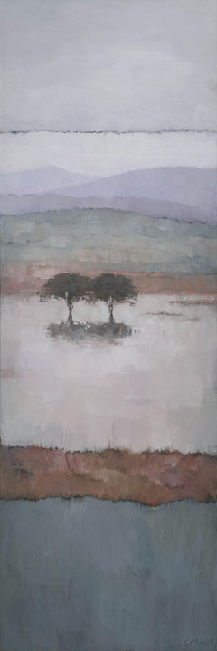 Paraty Hills 2, Painting, Acrylic on Canvas