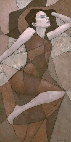 Rhea, Painting, Acrylic on Canvas