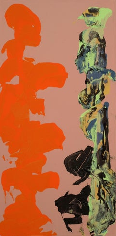 Conversations: Totems, Painting, Acrylic on Canvas