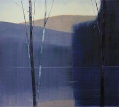 Purple Landscape Paintings