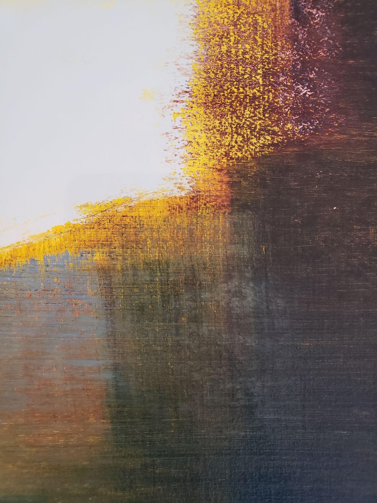 Landscape Painting on Paper by Contemporary Artist Stephen Pentak For Sale 2